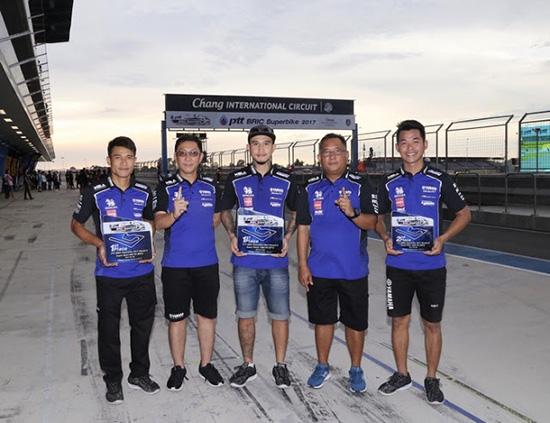YAMAHA RIDERS' CLUB RACING TEAM,ALL THAILAND SUPERBIKES CHAMPIONSHIP 2017 สนามที่ 5,ผลการแข่งขัน ALL THAILAND SUPERBIKES CHAMPIONSHIP 2017 สนามที่ 5,PTT BRIC SUPERBIKE CHAMPIONSHIP 2017 สนาม 2
