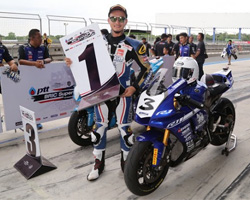 YAMAHA RIDERS' CLUB RACING TEAM,ALL THAILAND SUPERBIKES CHAMPIONSHIP 2017 สนามที่ 5,ผลการแข่งขัน ALL THAILAND SUPERBIKES CHAMPIONSHIP 2017 สนามที่ 5,PTT BRIC SUPERBIKE CHAMPIONSHIP 2017 สนาม 2