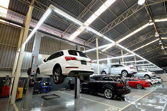ออดี้ ประเทศไทย,บริการหลังการขาย,ไมซ์สเตอร์ เทคนิค,Audi AG