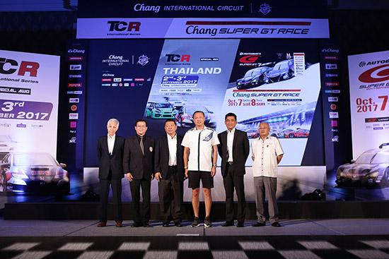 ช้าง ซูเปอร์ จีที เรซ,ทีซีอาร์ อินเตอร์เนชั่นแนล ซีรีส์,สนามช้าง อินเตอร์เนชั่นแนล เซอร์กิต,สนามช้าง อินเตอร์เนชั่นแนล เซอร์กิต จ.บุรีรัมย์,Super GT 2017,Chang Super GT,Chang Super GT Race,TCR