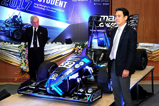 Black Pearl IX: Ubiquitous,Student Formula Japan 2017,KMUTT Formula Student,มหาวิทยาลัยเทคโนโลยีพระจอมเกล้าธนบุรี