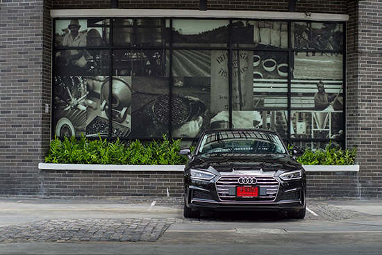A5 Coupe ใหม่,2017 The new A5 Coupe,The new A5 Coupe 2017,The new A5 Coupe ใหม่,ระบบขับเคลื่อนสี่ล้อ quattro,Audi A5 Coupe 40 TFSI,Audi A5 Coupe 40 TFSI S line, Audi A5 Coupe 45 TFSI S line quattro,ราคา Audi  A5 Coupe ใหม่