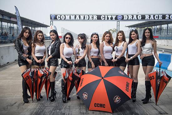Commander City Presented by Chang,เนวิน ชิดชอบ,แอ๊ด คาราบาว,สนามช้าง อินเตอร์เนชั่นแนลเซอร์กิต,คอมมานเดอร์ ซิตี้ พรีเซนต์เต็ด บาย ช้าง,กลุ่มมอเตอร์ไซค์ฮาร์เลย์เดวิดสัน,บิ๊กไบค์