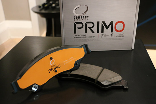 Compact Primo Brake,Compact Brake,ผ้าเบรกคอมแพ็ค,ผ้าเบรก Compact Primo,ระบบเบรก,ผ้าเบรก Compact