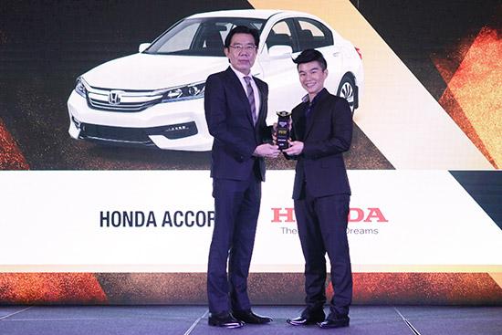 ฮอนด้า คว้า 7 รางวัลรถยนต์ขวัญใจมหาชนในประเทศไทย,ASEAN Car of the Year 2017