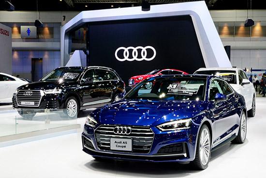 อาวดี้ ประเทศไทย,ออดี้ ประเทศไทย,Audi A4 Avant Black Edition,Audi A5 Sportback,Audi A4 Avant Black Edition ใหม่,Audi A5 Sportback ใหม่, Audi R8 Coupé V10,Audi R8, Audi TTS,MotorExpo 2017