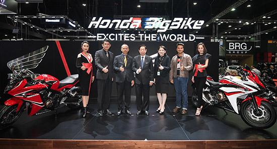 Honda BigBike,CBR650F สีใหม่,CB650F สีใหม่,CBR500 สีใหม่,CB500f สีใหม่,CB500x สีใหม่,Rebel 500 สีใหม่,แคมเปญ Honda Bigwing