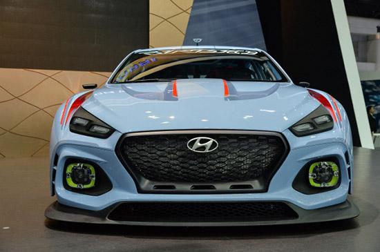 Hyundai RN30,Hyundai Ioniq,Ioniq EV,MotorExpo 2017,ฮุนได RN30,รถยนต์พลังงานไฟฟ้า ไอออนิก,รถยนต์ต้นแบบ ฮุนได RN30,MotorExpo 2017
