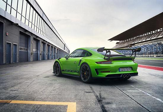 The new Porsche 911 GT3 RS,Porsche 911 GT3 RS ใหม่,2018 The new Porsche 911 GT3 RS,911 GT3 RS 2018