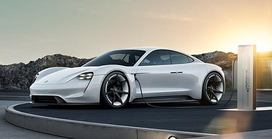 Porsche AG,โครงการพัฒนายานยนต์ไฟฟ้า มิชชั่น อี,Mission E,Porsche Mission E