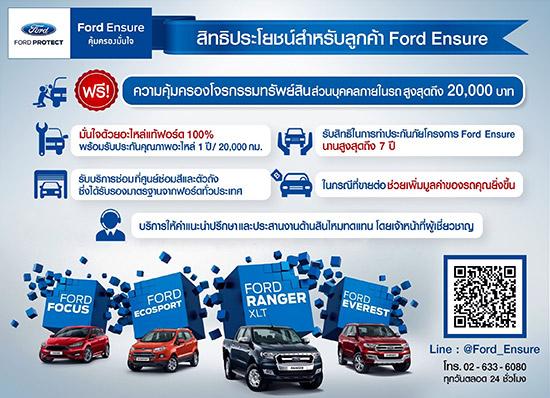 Ford Ensure,ประกันภัยชั้นหนึ่ง,ประกันภัยชั้นหนึ่ง Ford Ensure,ประกันภัยชั้น 1,Ford Ensure ประกันภัยชั้น 1