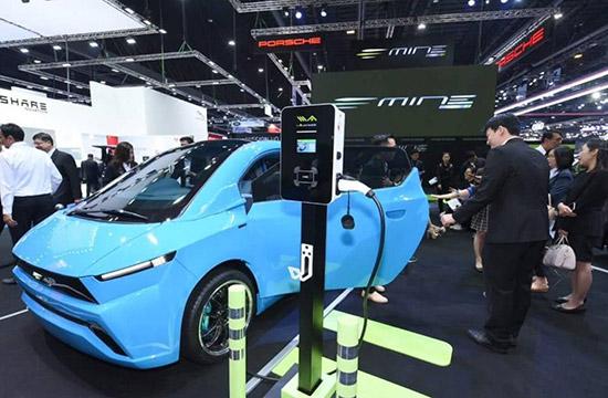 พลังงานบริสุทธิ์,EA,MINE Mobility,รถไฟฟ้า,Motorshow 2018