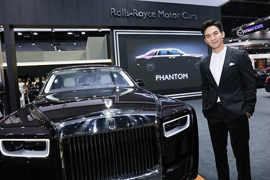 โรลส์–รอยซ์,นิว แฟนธอม,ROLLS-ROYCE PHANTOM,ROLLS-ROYCE,PHANTOM ใหม่,Phantom Extended Wheelbase,Motorshow 2018