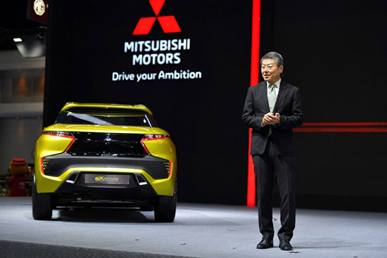 Mitsubishi eX Concept,มิตซูบิชิ อีเอ็กซ์ คอนเซปต์,Mitsubishi Pajero Sport Limited Edition,Mitsubishi Triton Athlete Mega Cab Plus,Mitsubishi Mirage Limited Edition,รถไฟฟ้ามิตซูบิชิ