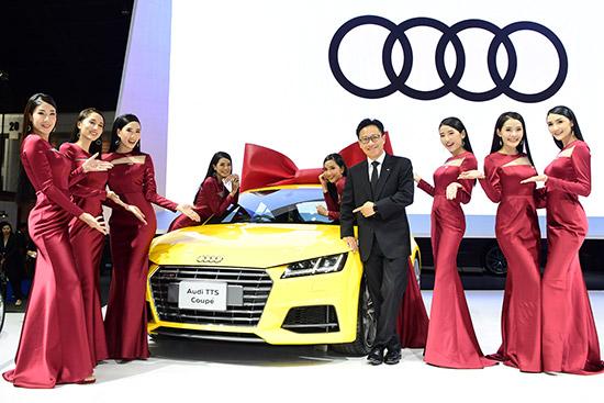 The new Audi A8 L,อาวดี้ ประเทศไทย,Audi A8 L,Audi A8L,A8 L 55 TFSI quattro Premium,A8 L 55 TFSI quattro Prestige, Audi A7 Sportback,Super Car Audi R8 Coupe V10 5.2 FSI quattro,Audi R8, Audi TTS Coupe