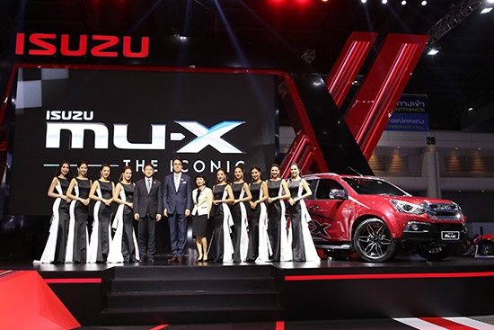 อีซูซุมิว-เอ็กซ์ THE ICONIC,อีซูซุมิว-เอ็กซ์ 1.9 ดีดีไอ บลูเพาเวอร์,อีซูซุ เอ็กซ์-ซีรี่ส์ 1.9 ดีดีไอ บลูเพาเวอร์,อีซูซุ เอ็กซ์-ซีรี่ส์ รุ่น Speed ,Isuzu X-SERIES,Isuzu Mu-X THE ICONIC,แคมเปญอีซูซุ,แคมเปญ Isuzu ในงาน motor show 2018