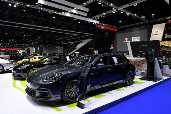 ปอร์เช่ ประเทศไทย,เอเอเอส ออโต้ เซอร์วิส,AAS,porsche AAS,The New Cayenne S,911 GT2 RS,911 GT3,Panamera 4 E-Hybrid Sport Turismo,Panamera 4 E-Hybrid,Motor Show 2018