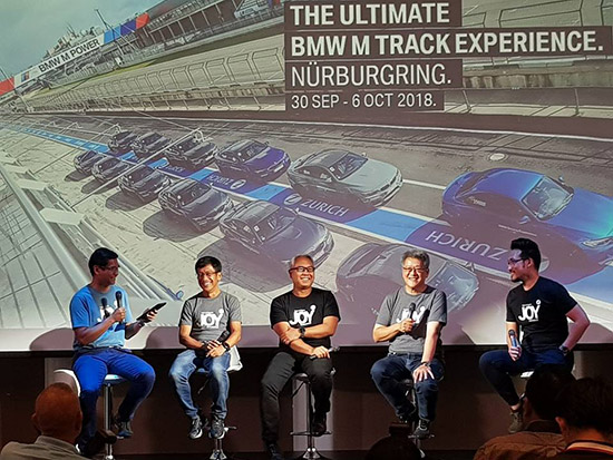 The Ultimate JOY Experience,BMW Berlin Marathon 2018,BMW Golf Cup Special Edition,Ryder Cup 2018,The Ultimate BMW M Track Experience Nürburgring,สนามนูร์เบอร์กริง,bmwultimatejoy,Ryder Cup,Berlin Marathon,bmw ultimate joy