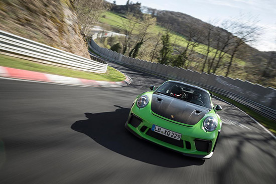 Porsche 911 GT3 RS,Green Hell,Nürburgring-Nordschleife,สนาม Nürburgring-Nordschleife,ปอร์เช่ 911 จีที3 อาร์เอส