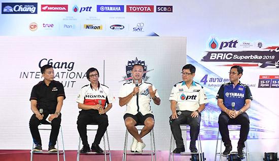PTT BRIC Superbike 2018,PTT BRIC Superbike,พีทีที บีอาร์ไอซี ซูเปอร์ไบค์,สนามช้าง อินเตอร์เนชั่นแนล เซอร์กิต,งานแข่งรถสนามช้าง,โมโตจีพี ในรายการ พีทีที ไทยแลนด์ กรังด์ปรีซ์ 2018,เนวิน ชิดชอบ,บุรณิน รัตนสมบัติ,สนามช้าง,ซูเปอร์ไบค์,bigbike,Superbike
