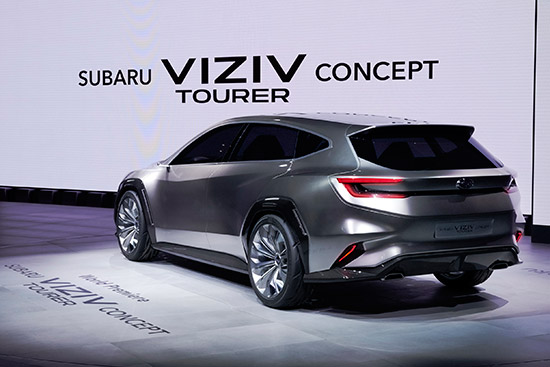 Subaru VIZIV Tourer,ซูบารุ วิซีฟ ทัวเรอร์,VIZIV Tourer,2018 Subaru VIZIV Tourer,รถต้นแบบซูบารุ,Subaru Concept,Subaru Concept car,Subaru VIZIV Tourer Concept