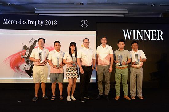 เมอร์เซเดสโทรฟี่ 2018,เมอร์เซเดสโทรฟี่,The Best Never Stops,การแข่งขันกอล์ฟสมัครเล่นเมอร์เซเดสโทรฟี่,Mercedes Trophy 2018,Mercedes Trophy