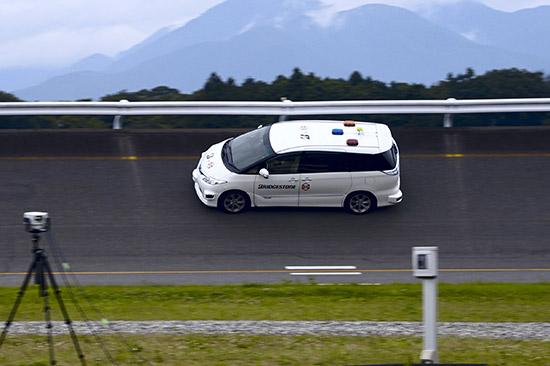 ทดสอบยางรถยนต์,ทดสอบยางรถยนต์บริดจสโตน,ทดสอบยางบริดจสโตน,ระบบขับเคลื่อนอัตโนมัติไร้คนขับ,ทดสอบยาง,RoboCar MiniVan,ยางรถยนต์,bridgestone,ทดสอบยางรถยนต์ bridgestone,ทดสอบยาง bridgestone