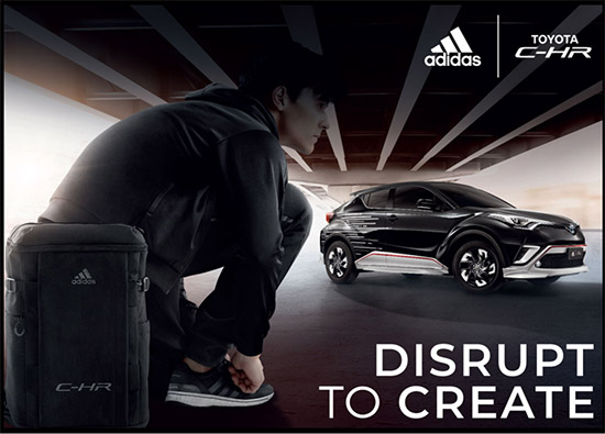 TOYOTA C-HR,ADIDAS JAPAN,Toyota New Global architecture,TNGA,ADIDAS,C-HR I ADIDAS SET JAPAN LIMITED EDITION