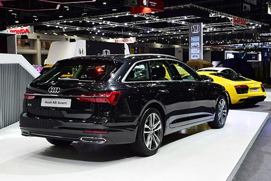 The new Audi A6 Avant,Motor Expo 2018,Audi A6  Avant ใหม่,A7 Sportback,Audi Q2