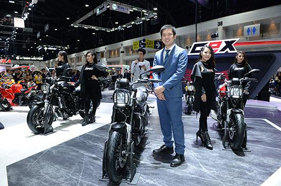 รถมอเตอร์ไซค์ GPX,MAD 300,Gentleman Racer 200,New Demon 150 GR,Motor Expo 2018,GPX MAD 300,GPX Gentleman Racer 200,New GPX Demon 150 GR