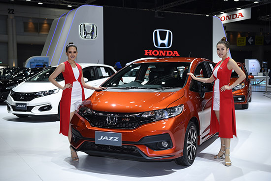Honda Civic ใหม่,Honda Civic ใหม่ สีน้ำเงินบริลเลียนท์ สปอร์ตตี้,Honda SENSING,Honda Accord ใหม่,2019 Honda Accord,Honda NSX,Honda CR-V 5 ที่นั่ง,Honda CR-V ใหม่,แคมเปญรถยนต์ฮอนด้าในงาน MotorExpo 2018,แคมเปญ MotorExpo 2018,MotorExpo 2018