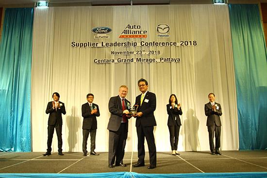 บริดจสโตน,Top Supplier Award 2018,บริดจสโตน รับรางวัล Top Supplier Award 2018,ยางบริดจสโตน