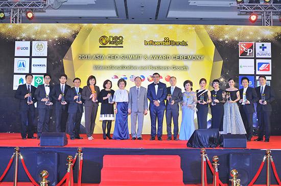 ลามิน่าคว้ารางวัลสุดยอดแบรนด์ชั้นนำ,Outstanding Brands Award,จันทร์นภา สายสมร,Influential Brands,ฟิล์มกรองแสงลามิน่า,ฟิล์มกรองแสง lamina