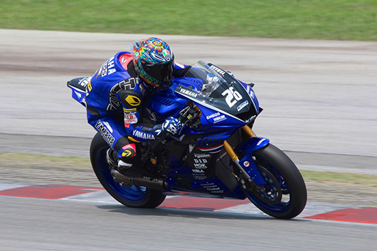 ต๋ง พีรพงศ์ บุญเลิศ,พีรพงศ์ บุญเลิศ,ยามาฮ่า ไทยแลนด์ เรซซิ่งทีม,Yamaha YZF-R6,ซูเปอร์สปอร์ต 600 ซีซี,SuperSports 600,Asia Road Racing Championship 2019,สนามเซปังเซอร์กิต ประเทศมาเลเซีย