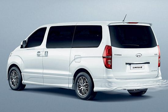 Hyundai H1 Limited III,H1 Limited III,เอช-วัน ลิมิเต็ด ทรี,ฮุนได เอช-วัน ลิมิเต็ด ทรี,Hyundai H1