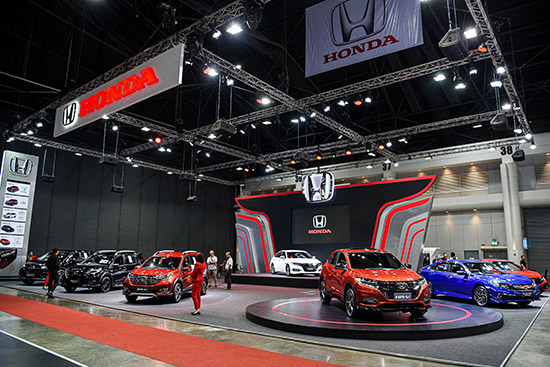 แอคคอร์ด ใหม่,Bangkok International Auto Salon 2019,Bangkok Auto Salon 2019