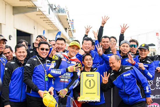 พีรพงศ์ บุญเลิศ,ยามาฮ่า ไทยแลนด์ เรซซิ่งทีม,ASIA ROAD RACING CHAMPIONSHIP 2019 สนามที่ 2,SUPERSPORTS 600cc,YZF-R6,พีรพงศ์ บุญเลิศ YZF-R6