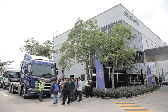 บริดจสโตน,ยางบริดจสโตน,สนามทดสอบยางไทยบริดจสโตน,สนามทดสอบยางไทยบริดจสโตน Thai Bridgestone Proving Ground,สนามทดสอบยาง Bridgestone,สแกนเนีย สยาม,scania NTG