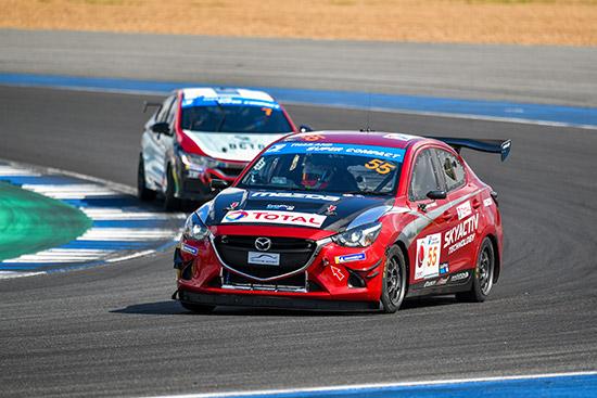 Thailand Super Series 2019,มาสด้า2,มานะ พรศิริเชิด,จารุตม์ จรวิเศษ,Thailand Super Compact,ทีม Mazda Innovation Motorsport