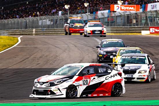 Toyota C-HR,ADAC Total 24h Race Nürburgring 2019,รายการ ADAC Total 24h Race Nürburgring 2019,Toyota Gazoo Racing Team Thailand
