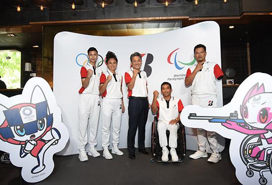 ไทยบริดจสโตน,นักกีฬาบริดจสโตนประเทศไทย,ผู้สนับสนุนหลักโอลิมปิกและพาราลิมปิกอย่างเป็นทางการ