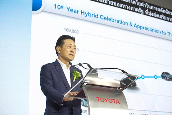 การบริหารจัดการแบตเตอรี่รถยนต์ไฮบริด,โตโยต้าฉลองความสำเร็จ 10 ปี,รถยนต์ไฮบริด,โครงการบริหารจัดการแบตเตอรี่รถยนต์ไฮบริดใช้แล้วแบบครบวงจร,สายการผลิตแบตเตอรี่ รถยนต์ไฮบริด,โรงงานประกอบรถยนต์โตโยต้า เกตเวย์