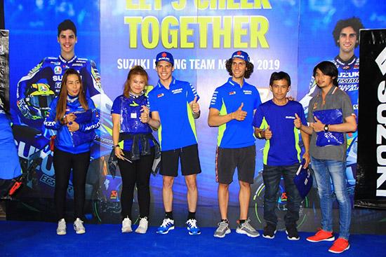 Team Suzuki Ecstar,Suzuki Ecstar,อเล็กซ์ ริน,โจน เมียร์,ThaiGP,ThaiMotoGP,PTT Thailand Grand Prix 2019,MotoGP สนามที่ 15
