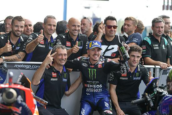 ฟาบิโอ กวาร์ตาราโร,ปิโตรนาส ยามาฮ่า เอสอาร์ที,มาร์ค มาร์เกซ,วาเลนติโน รอสซี่,อันเดรีย โดวิซโอโซ,Marquez,MM93,Rossi,VR46,Dovizioso,Dovi04,พีทีที ไทยแลนด์ กรังด์ปรีซ์ 2019,thaigp,thaigp 2019,MotoGP,PTTThailandGrandPrix,ChangInternationalCircuit