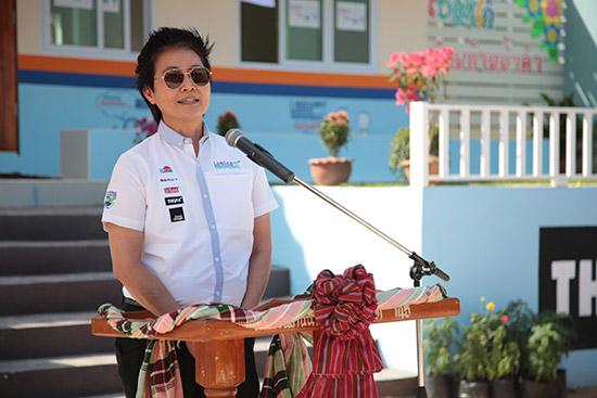 ลามิน่าสานฝันเด็กไทยได้เล่าเรียน,ฟิล์มกรองแสงลามิน่า,โรงเรียนบ้านน้ำคำ,ลามิน่าสานฝันเด็กไทยได้เล่าเรียน ปีที่ 18,จันทร์นภา สายสมร,ฟิล์มกรองแสง Lamina,ลามิน่ามอบอาคารเรียนหลังใหม่
