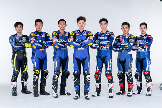 ยามาฮ่า ไทยแลนด์ เรซซิ่งทีม,Yamaha Thailand Racing Team,นักแข่งสังกัดยามาฮ่า,นักแข่งสังกัดยามาฮ่า ไทยแลนด์ เรซซิ่งทีม