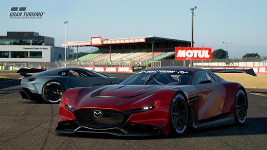 Mazda RX-Vision GT3 Concept,Gran Turismo Championships Series 2020,Gran Turismo,Mazda RX-Vision GT3 Concept Gran Turismo,เกม Gran Turismo Sport,PlayStation 4,RX-VISION GT3