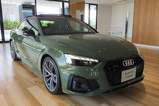 Audi A5 ใหม่,Audi A5 2020,The New Audi A5, Audi A5 Coupe 40 TFSI S line,Audi A5 Coupe ใหม่,A5 Coupe 45 TFSI quattro S line Black Edition,A5 Sportback 45 TFSI quattro S line Black Edition,A5 Sportback ใหม่,Audi A5 Sportback ใหม่
