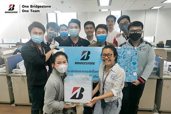 One Bridgestone One Team,ไทยบริดจสโตน,COVID-19,บริดจสโตนเคียงข้างคุณ,Contribution to our People,บริดจสโตนเพื่อสังคม,บริดจสโตนขับเคลื่อนธุรกิจ