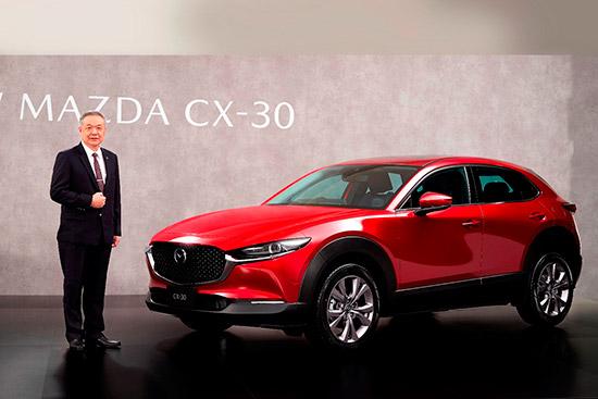 มาสด้า CX-30,ยอดจองมาสด้า CX-30,ยอดจอง Mazda CX-30,ยอดจองมาสด้า